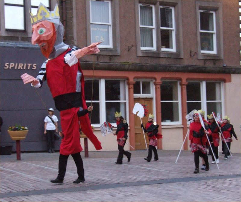 Photo: Sinclair Odyssey Street Parade At Wick, Caithness