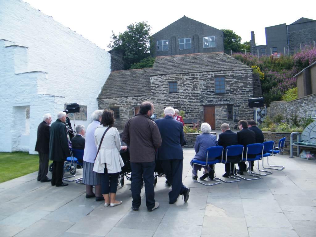 Photo: Memorial Garden At Bank Row, Wick