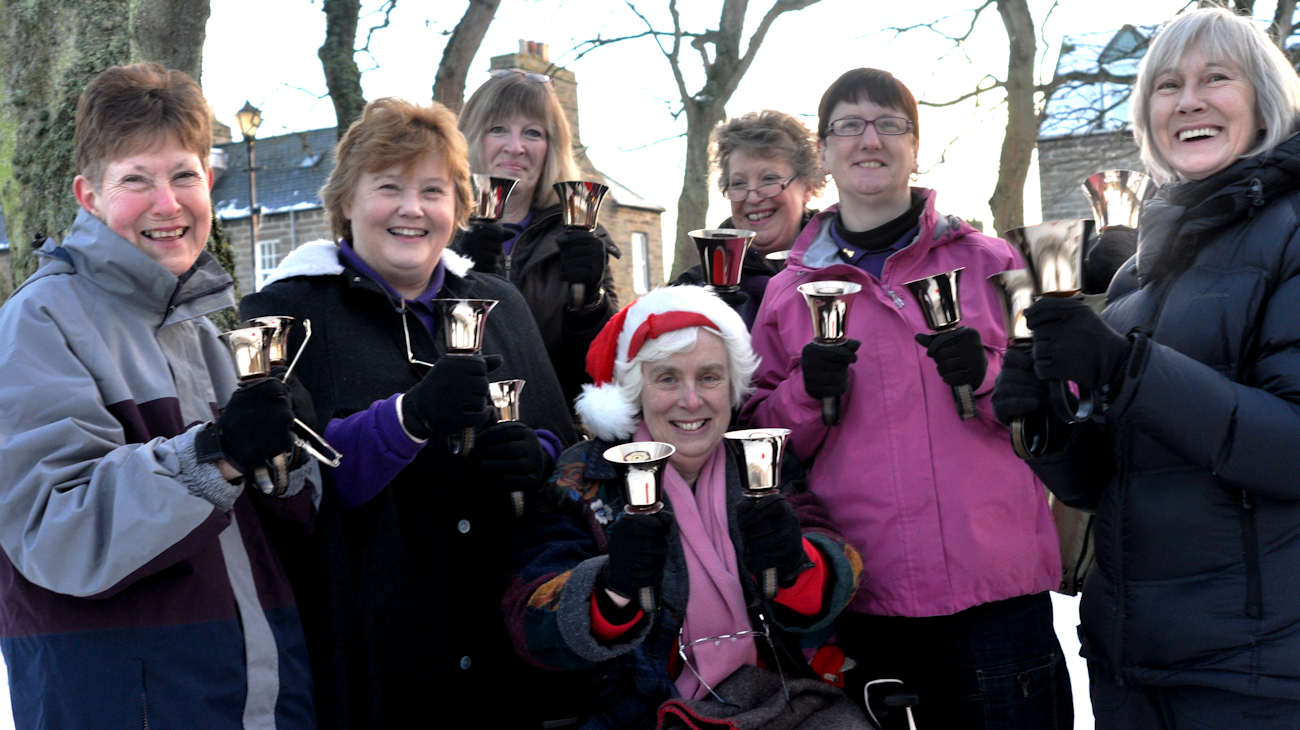 Photo: Argyle Square Christmas Fun Day - Pulteney Bell Ringers
