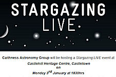 Astronomy Event At Castlehill 3 January 2010