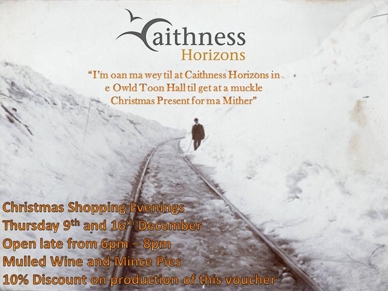 Photo: Christmas Shopping At Caithness Horizons