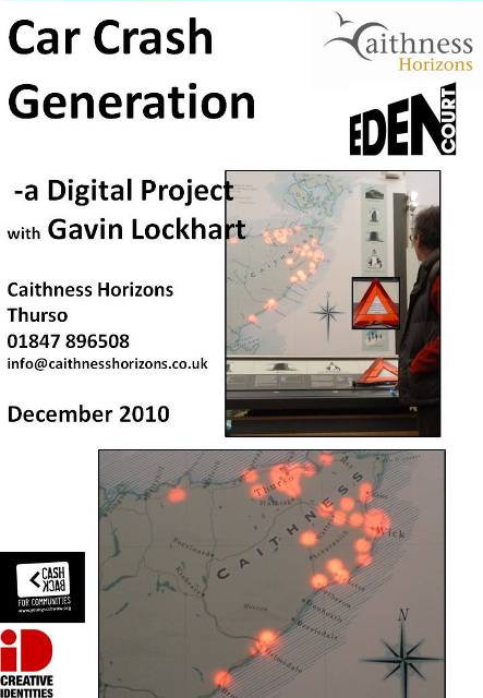 Photo: Car Crash Generation - Caithness Horizons