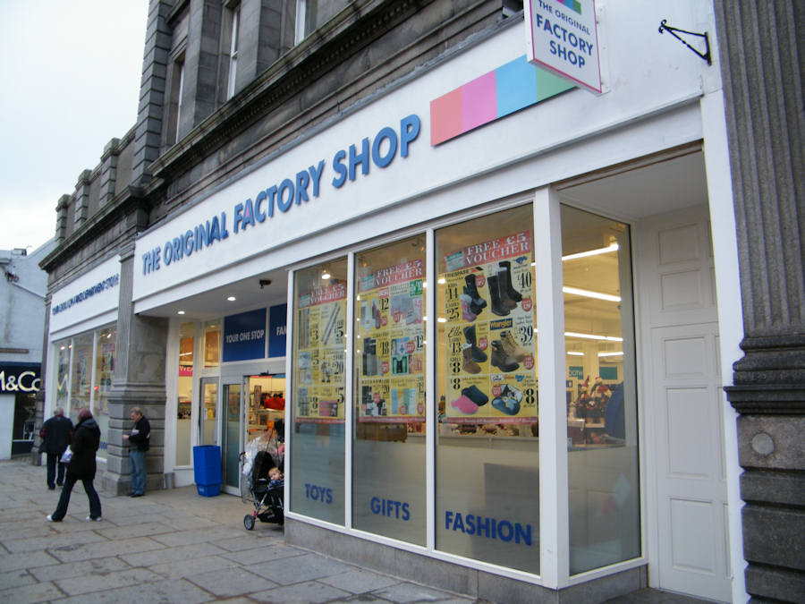 Photo: The Original Factory Shop In Wick Opened For Business
