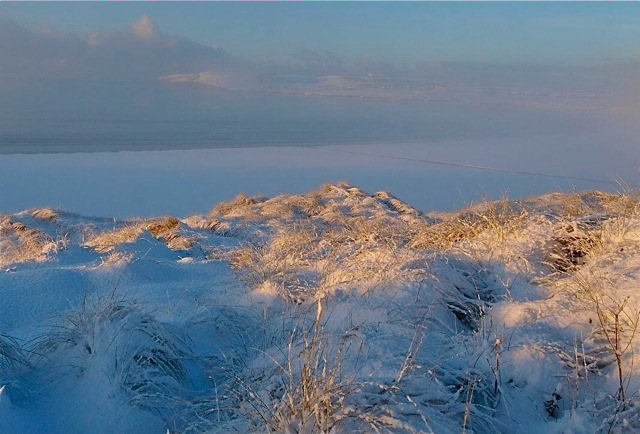 Photo: Dunnet Beach In Winter