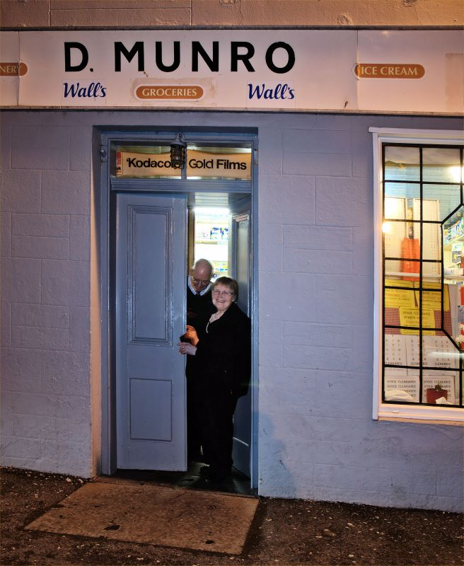 Photo: D Munro known as the Cafe in Lybster Closes After 46 Years Trading
