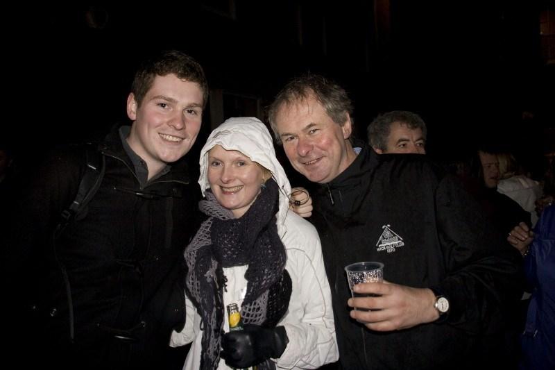 Photo: Wick Hogmanay Street Party Brings In 2010