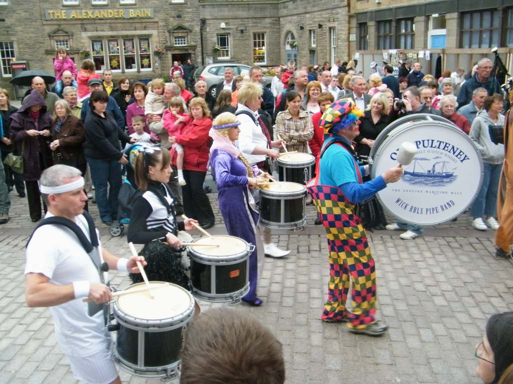 Photo: Wick Pipe Band Week 2010 - Fancy Dress