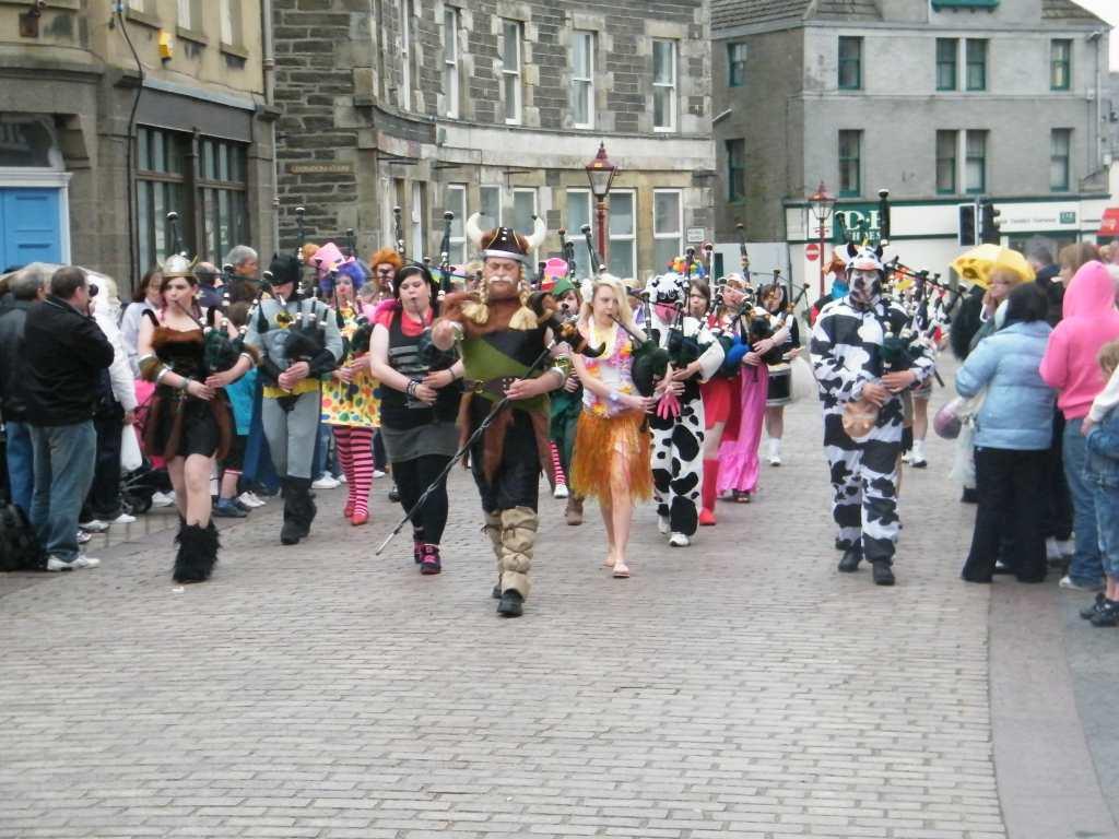 Photo: Wick Pipe Band Week 2010 - Fancy Dress