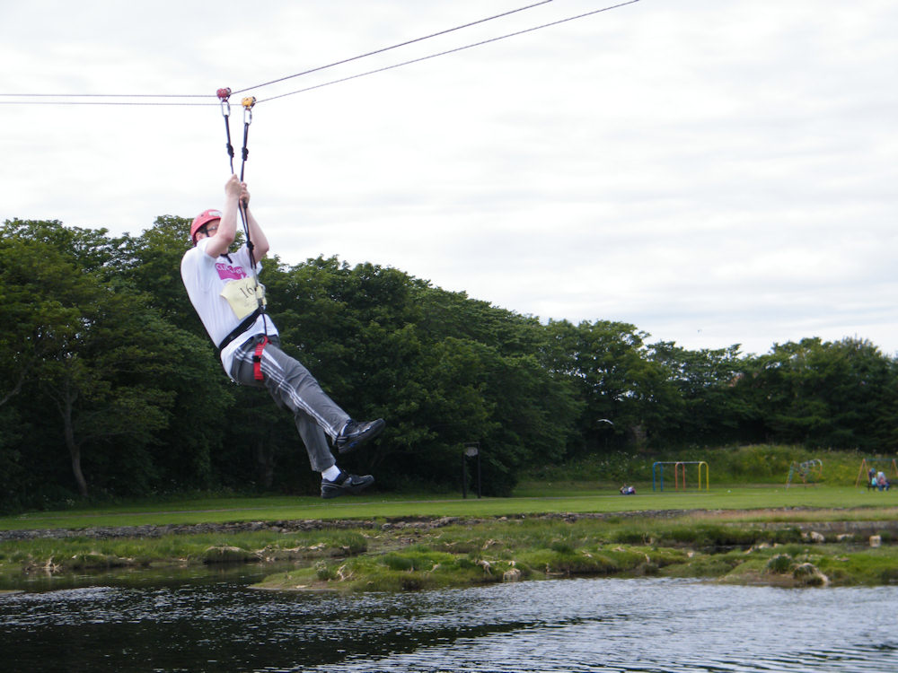 Photo: Zip Slide At Wick Riverside