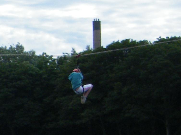 Photo: Zip Slide At Wick Riverside