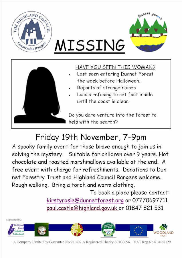 Photo: Missing - A Spooky Family Event