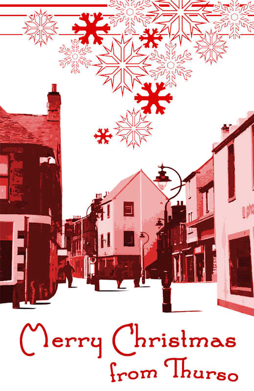 Photo: Thurso Christmas Cards On Sale