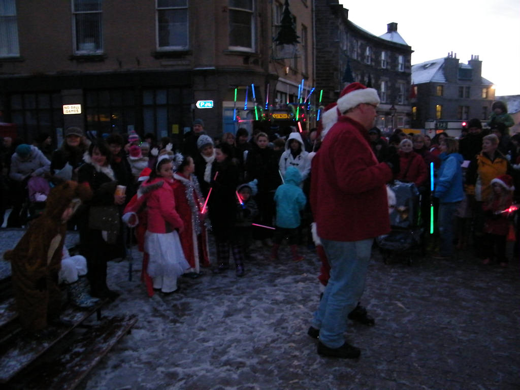 Photo: Wick Christmas Lights Switch On 2010