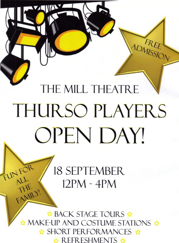 Photo: Thurso Players Open Day