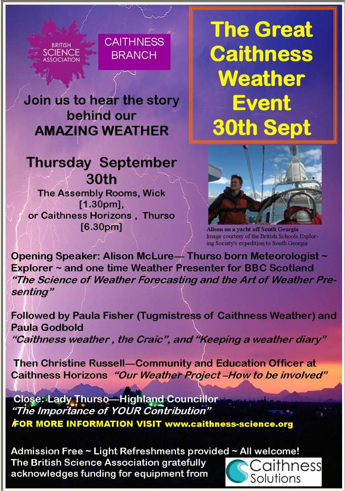 Photo: Great Caithness Weather Event