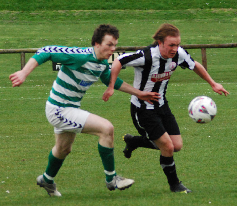 Photo: Buckie Thistle 4 Wick Academy 1