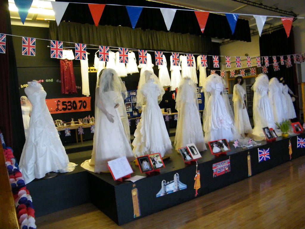 Photo: Pultneytown Academy Wedding Dresses Display