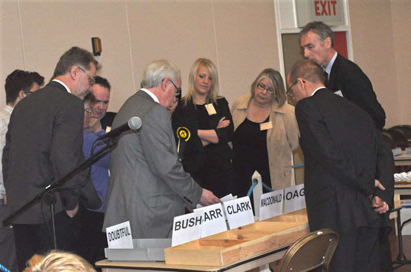 Photo: At The Count Of The Wick Bi-election