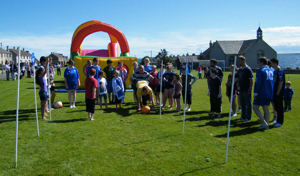 Photo: Keissers Check The Obstacle Course