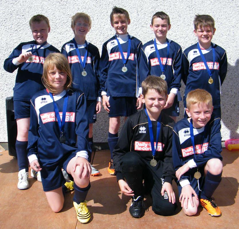 Photo: East End Boys Club Wick Winners