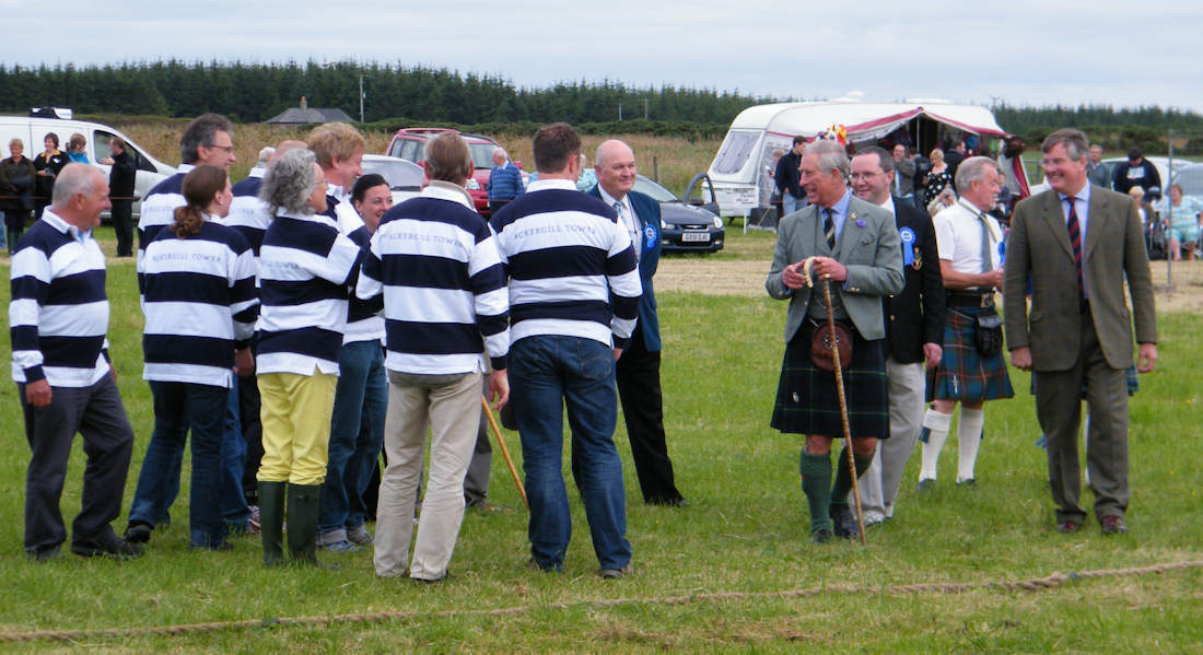 Photo: Prince Charles At The Mey Games 2011