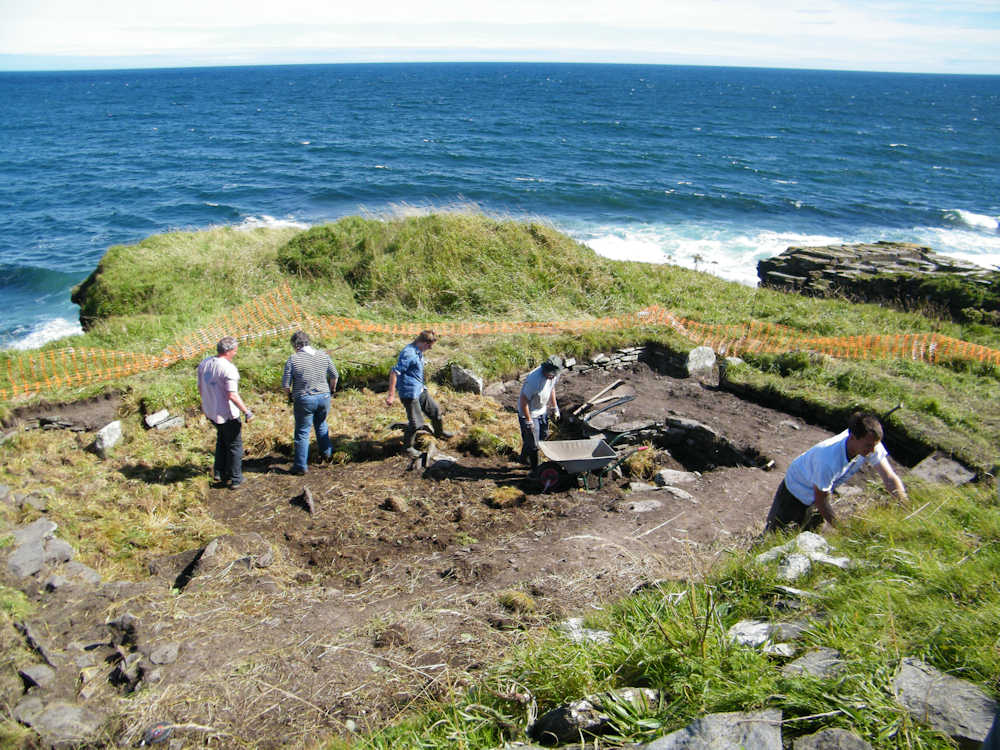 Photo: Nybster Broch Archaeological Dig 2011