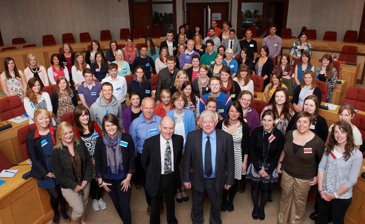 Photo: New Probationer Teachers In Highland 2011