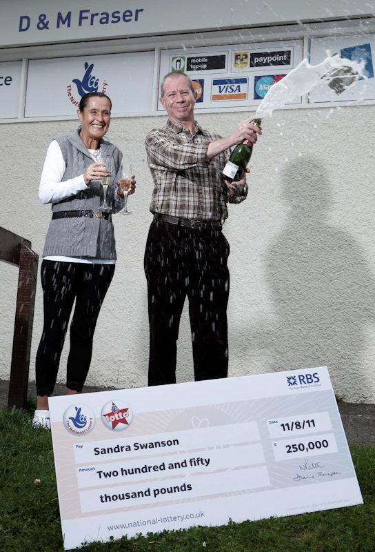 Photo: Champagne For Sandra and Glenn Swanson