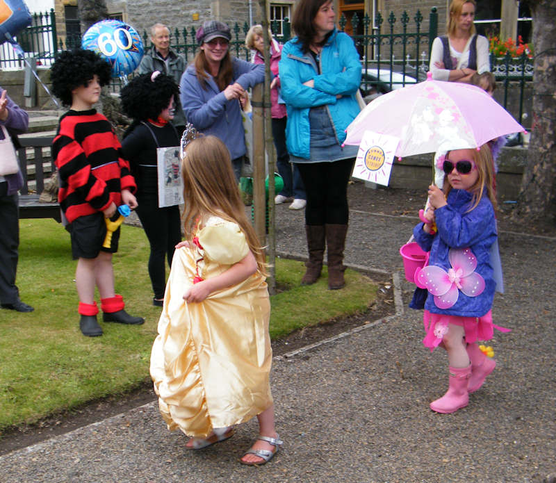 Photo: Children's Fancy Dress At Thurso Gala 2011