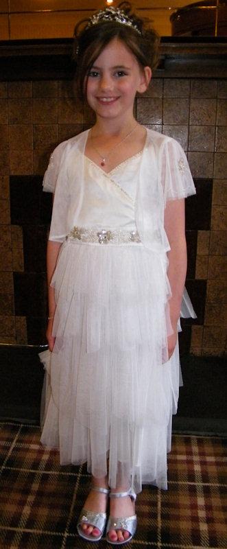 Photo: Flower Girl At Thurso Gala 2011