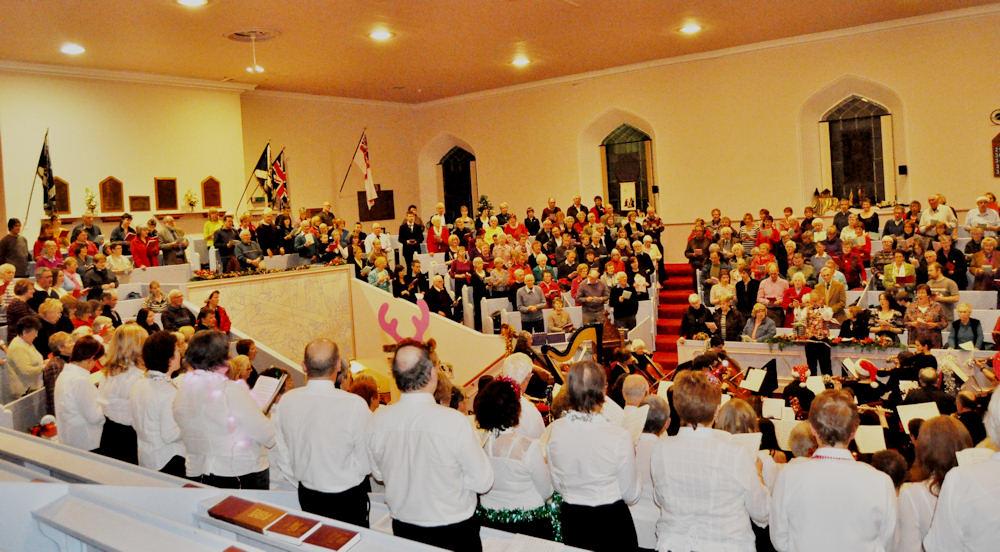 Photo: Christmas Carols Concert At St Fergus, Wick
