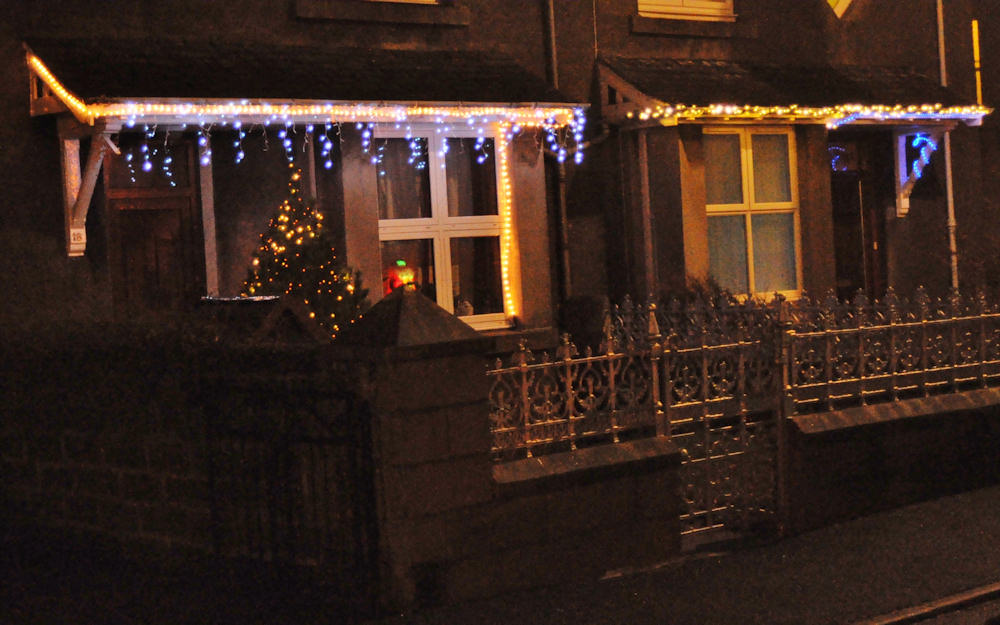 Photo: Christmas Lights In Caithness