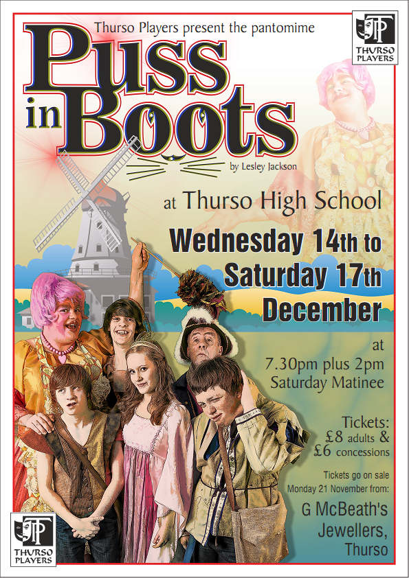 Photo: Puss In Boot Pantomime In Thurso
