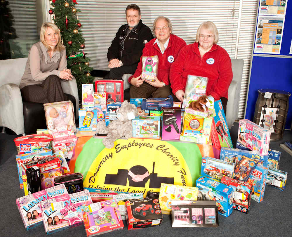 Photo: Caithness FM Christmas Toy Appeal
