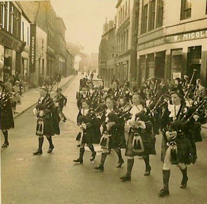 Photo: Wick Girls Pipe Band 1960s