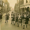 Wick Girls Pipe Band about 1960