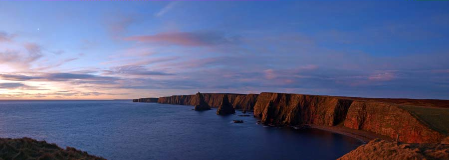Photo: Duncansby Stacks With Venus In The Sky
