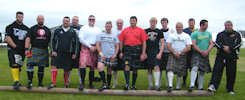 Halkirk Highland Games - Heavyweight Competitors