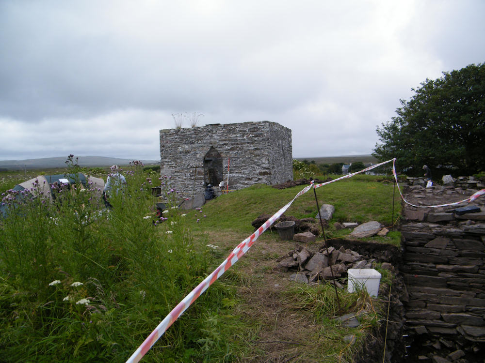Photo: Thrumster Broch Let local Folk Try Archaeology