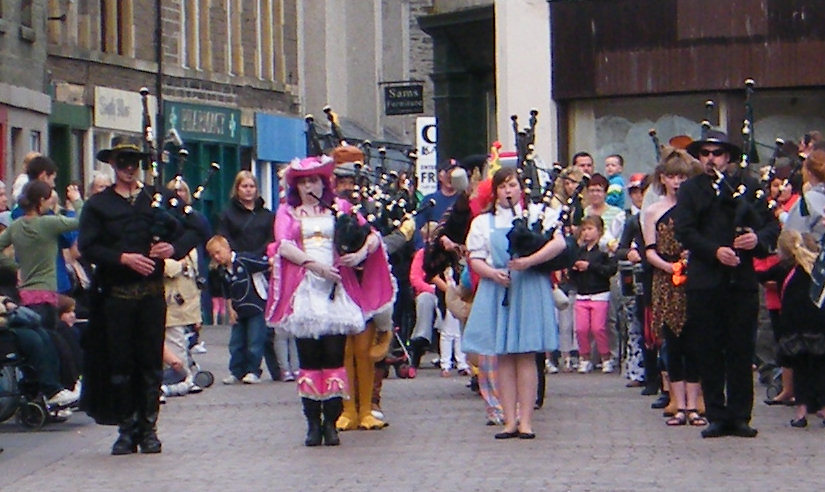 Photo: Wick Pipe Band Week 2011 Fancy Dress Parade
