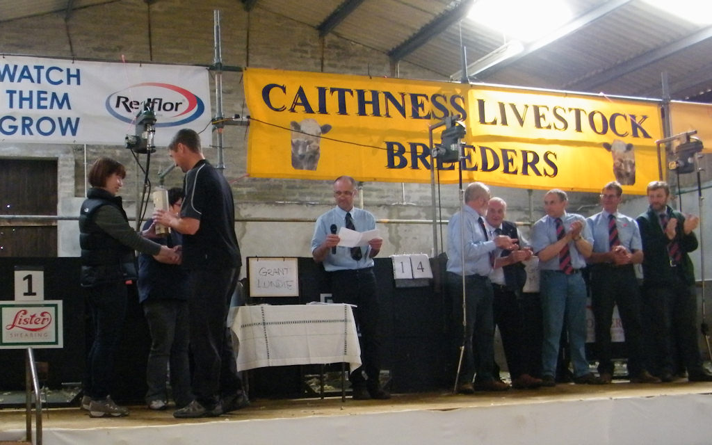 Photo: Caithness Shears Competition 2011