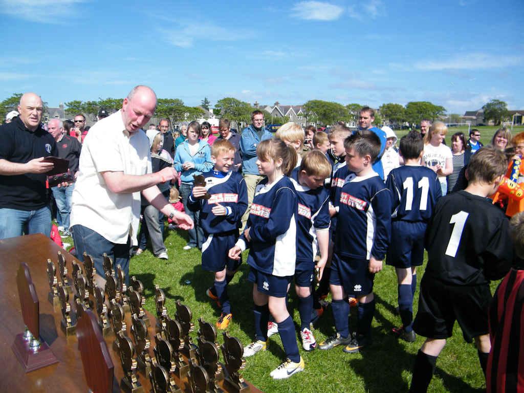 Photo: Scott Mackenzie Memorial Football Tournament 2011 - Winners