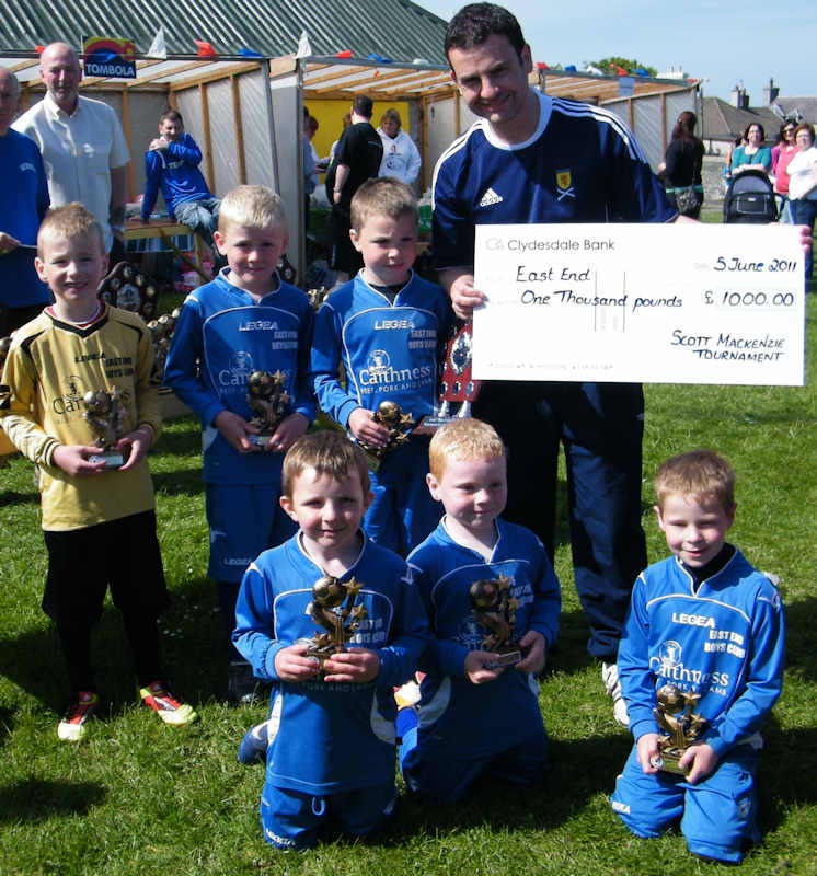 Photo: Scott Mackenzie Memorial Football Tournament 2011 - Winners