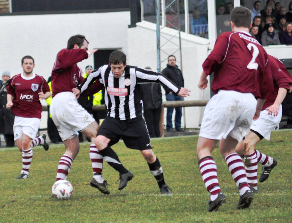 Photo: Keith Knock Academy Out Of The League Cup