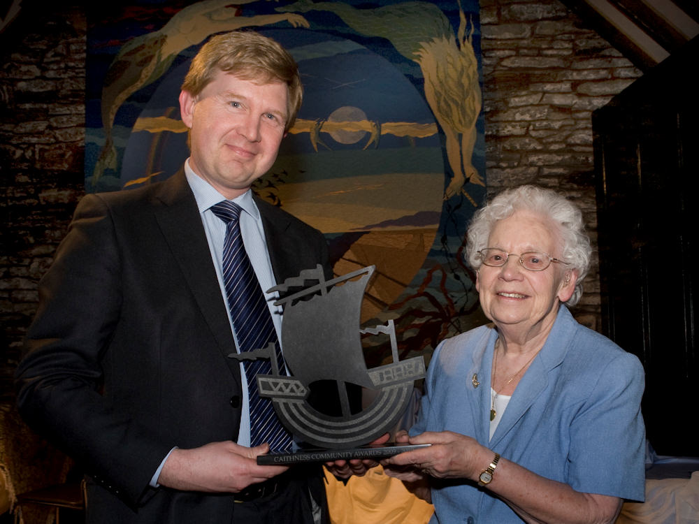 Photo: Citizen Of The Year - Mrs Jean Macdoanld