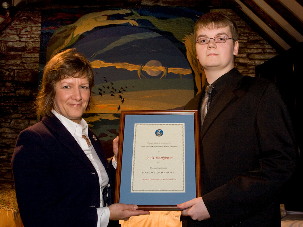Photo: Young Citizen Of the Year - Louis Mackinnon