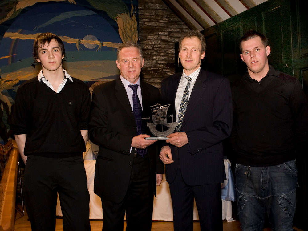 Photo: Supporting Others to Achieve in Sport Award - Wick Squash Club