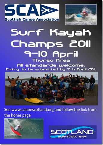 Photo: Surf Kayak Championships 2011