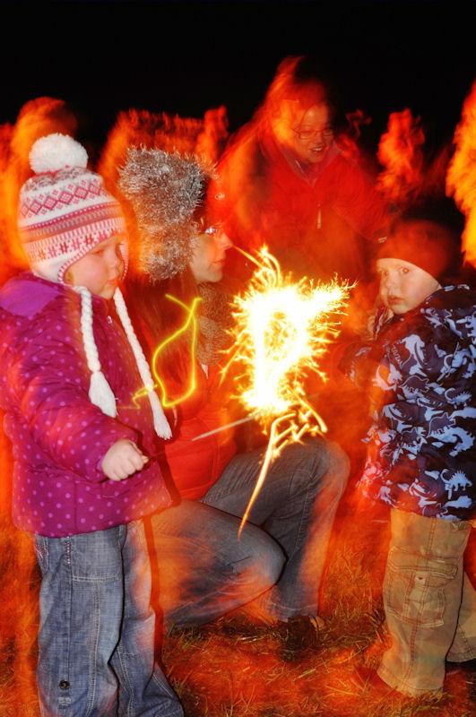 Photo: Fireworks At Auckengill