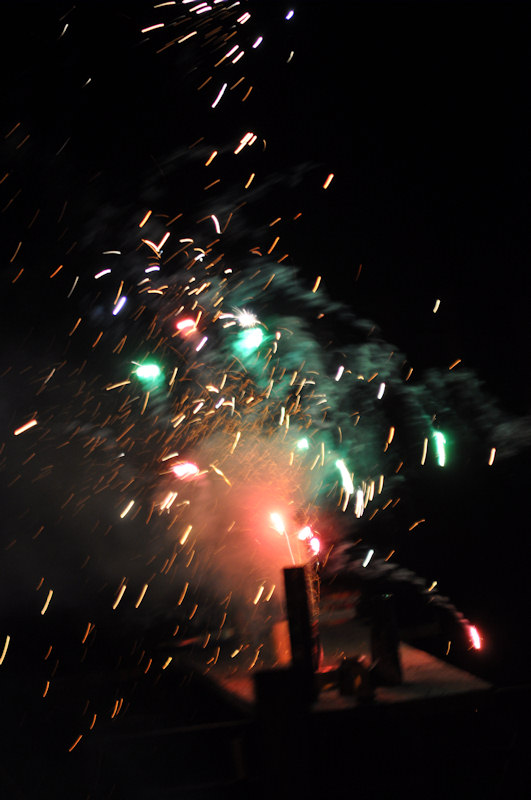 Photo: Fireworks At Auckengill